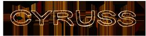 Cyruss logo rust