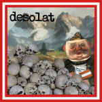 "desolat - ""Shareholder of Shit"" 10"" Ep cover"