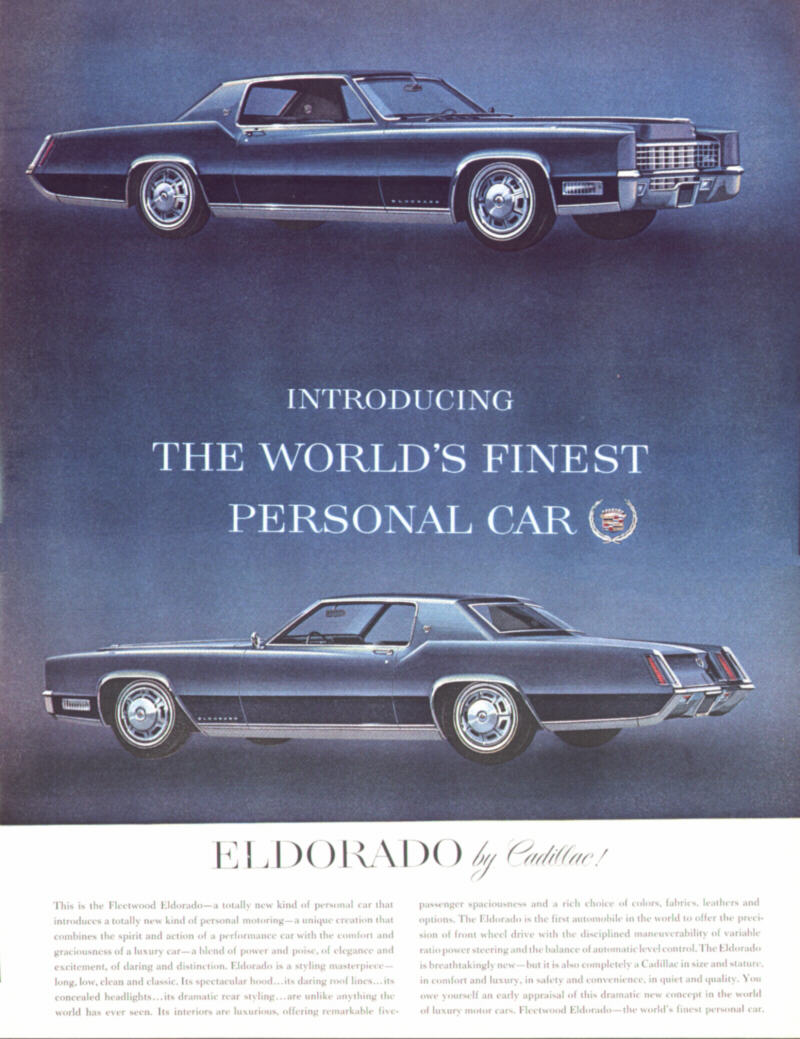 1967 Cadillac Ads