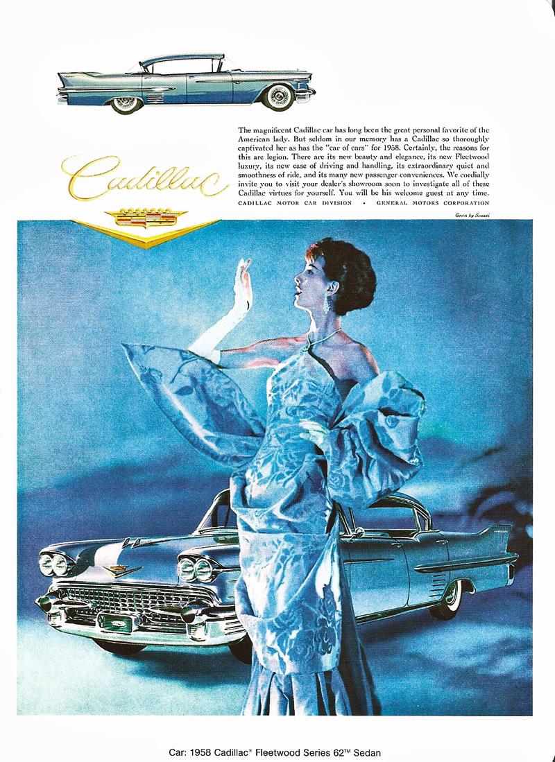 1958 Cadillac Ads